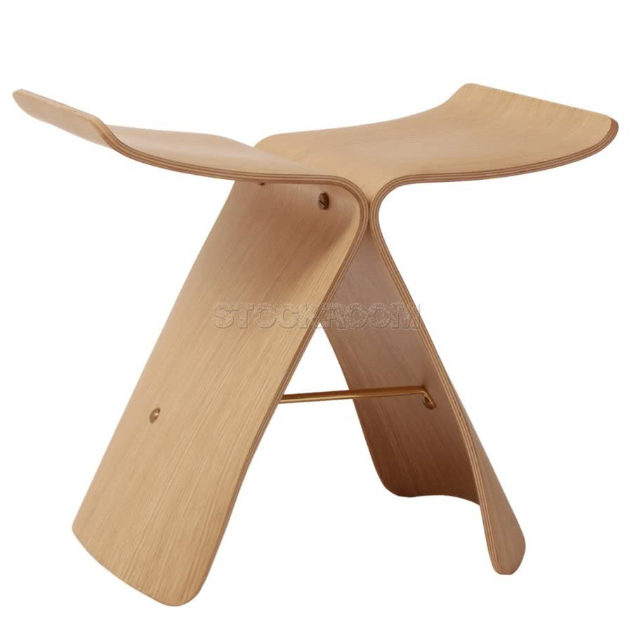 Sori Butterfly Style Stool