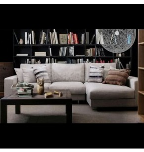 Kagan Fabric Feather Down Sofa - L Shape / Sectional Sofa